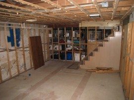 #142 basement renovation