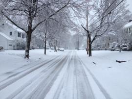 Randlett snow