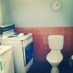 kitchen toilet