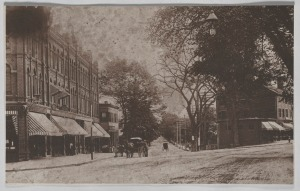 West Newton Sq & Watertown St 1895
