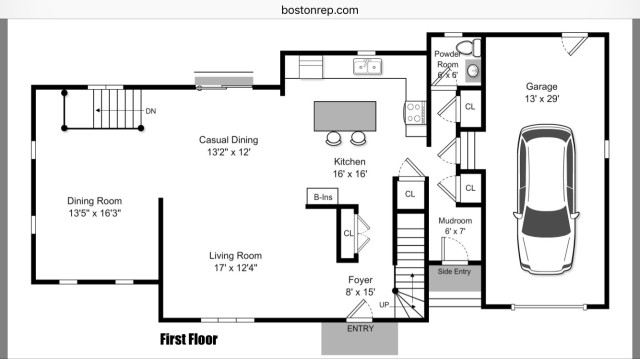 164 Fairway floorplan