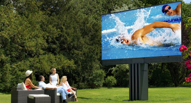 Giant outdoor TV